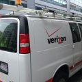 Verizon-van