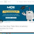 Moz free Training