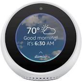 57% OFF - Amazon Echo Spot Smart Speaker (B074BL3R67, White)