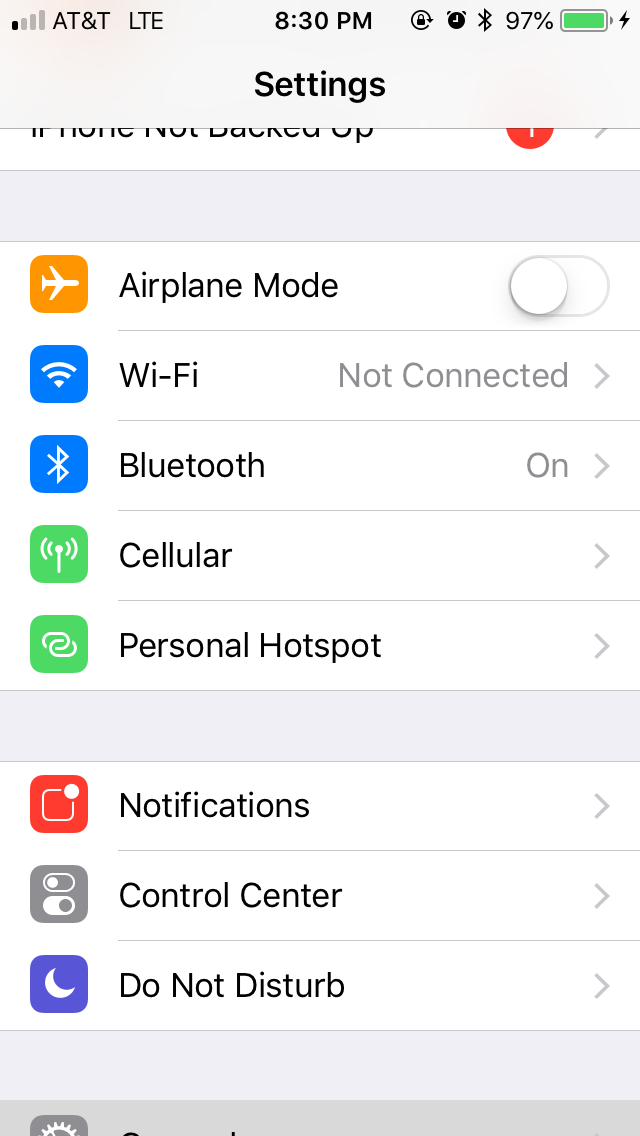 iPhone disconnects from  WiFi for no reason?