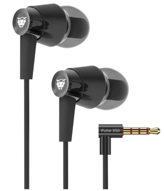 77% OFF - Ant Audio In-Ear Wired Earphones with Mic (Black)