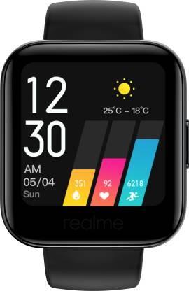 42% OFF - Realme Classic SmartWatch (Black Strap)