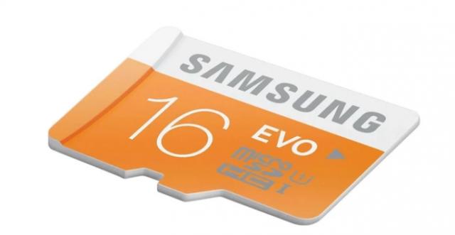 Save Rs. 600 on Samsung EVO 16GB MicroSD SDHC Memory Card (Hi-Speed)