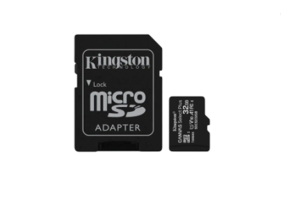 Save Rs.301 on Kingston Canvas Select Plus 32GB MicroSD Card with Adapter (Black)