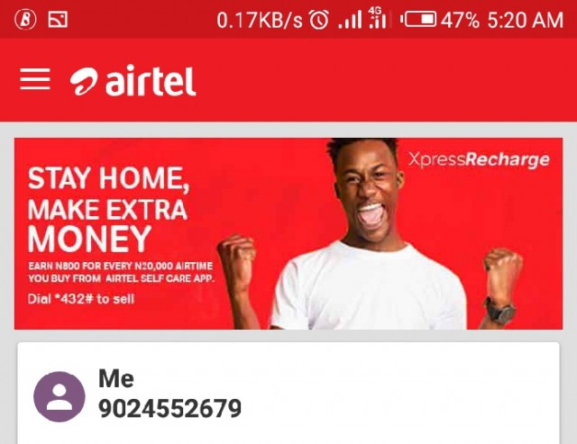 Save N800 from every N20,000 Recharge Card - Airtel Nigeria Xpress Recharge Offer