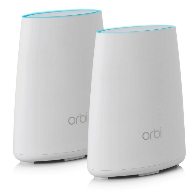 Save ₹27000 Netgear RBK40-100INS Orbi Wi-Fi System with Router and Satellite Extender (White)