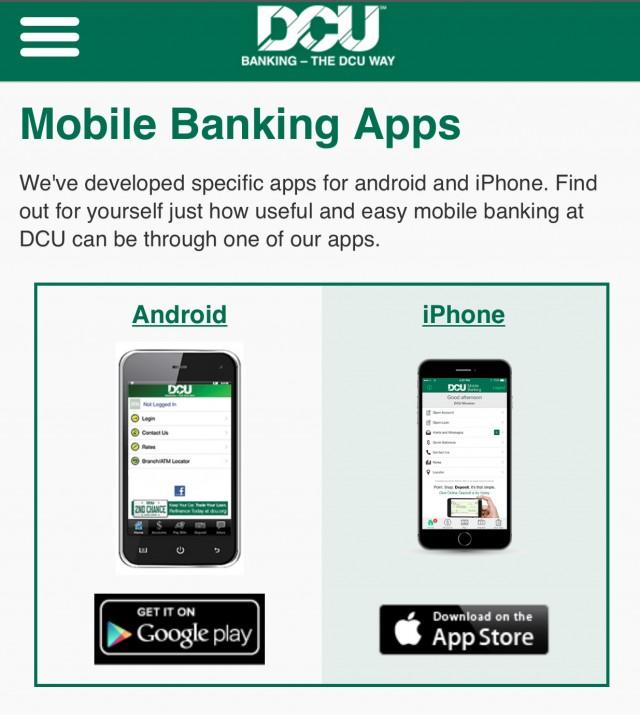 DCU Mobile Banking App provides convenient way to deposit  checks