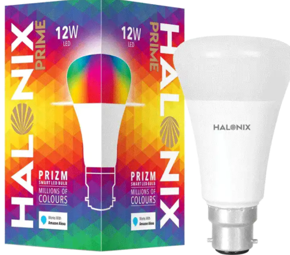 Save Rs. 1810 on Halonix Prime Prizm 12-Watt Smart LED Bulb