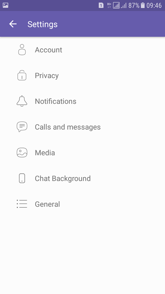 "Viber  ""Seen/online"" status"