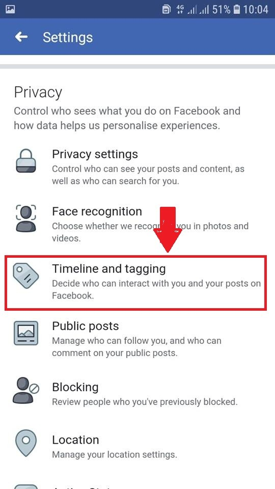 Set up who can see your tagged photos in your Facebook