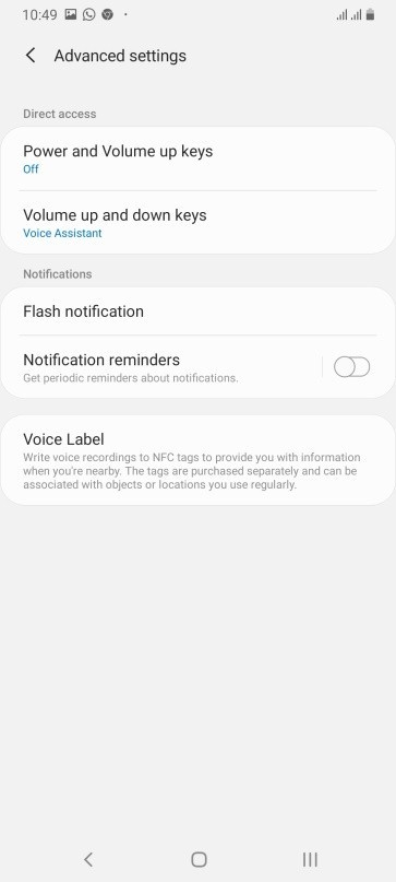 Cool Flash Notifications in Samsung Galaxy A70