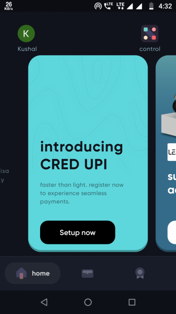 Cred App  Get rewarded for your credit card payments in India