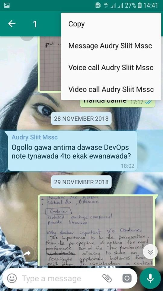 Reply privately to messages in Whatsapp groups