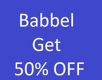 Babbel Language Learning - Get 50% OFF