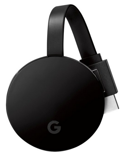 Save $10 on Google - Chromecast Ultra 4K Streaming Media Player With 30 Days HBO Max Trial