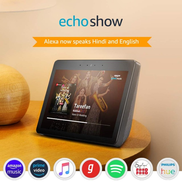 26% OFF - Echo Show – Premium Sound and a Vibrant 10.1 HD Screen (Black)