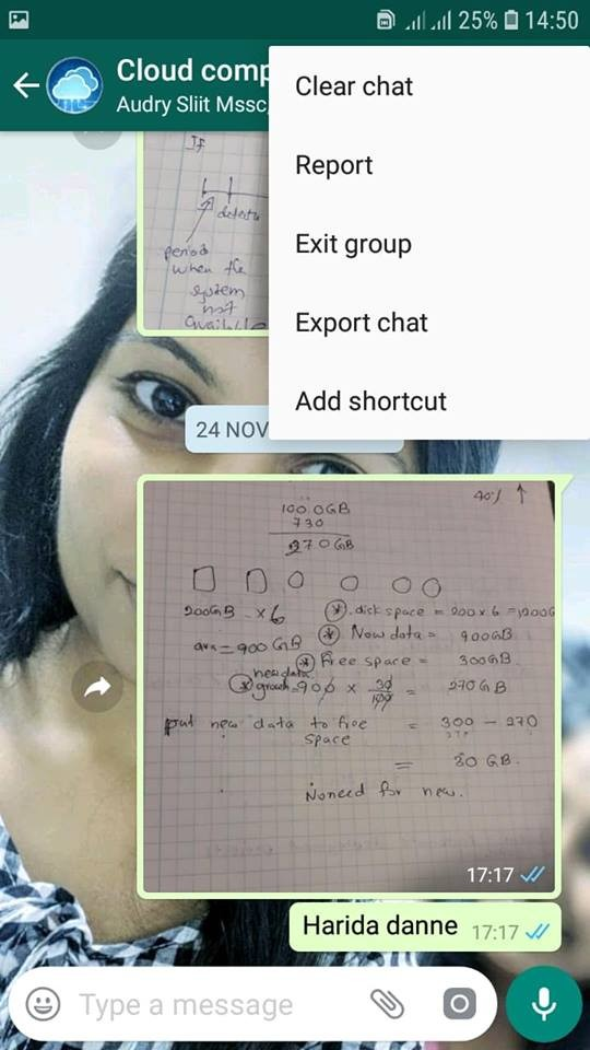 Quickly leave from a whatsapp group when you want