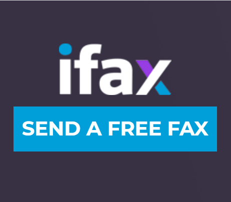 Send a free fax with ifax
