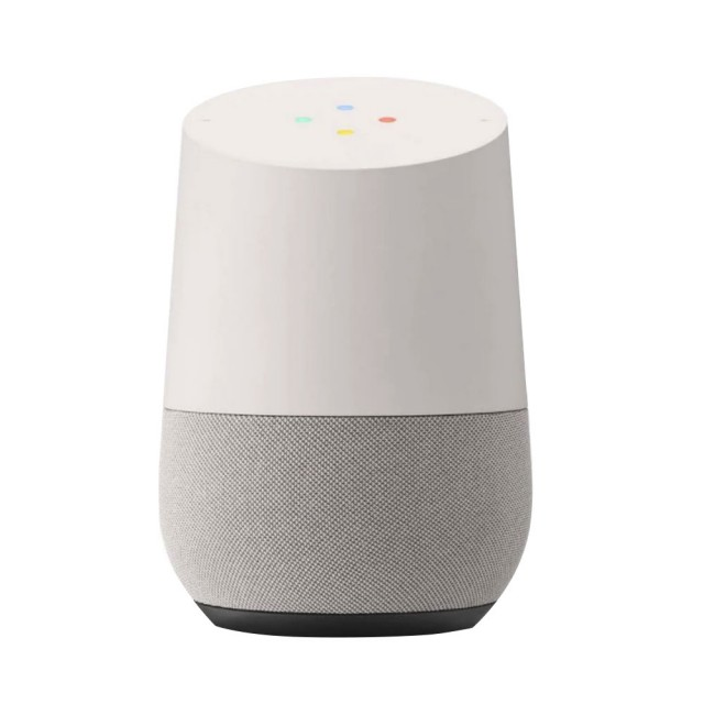 20% OFF - Google Home smart voice-activated speaker (white and grey)