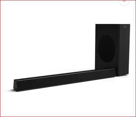 Get 15% OFF - Philips HTL3310/10 160 W Bluetooth Sound bar (Black, 2.1 Channel)