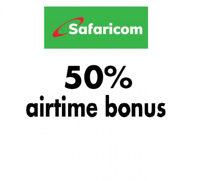 Kenya subscribers get 50% airtime bonus from Safaricom