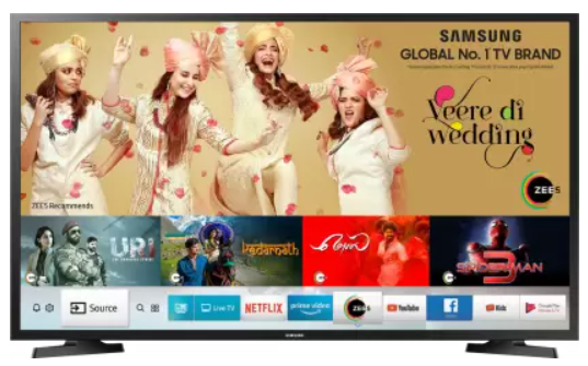 35% OFF - Samsung Series 4 HD Ready LED Smart TV (80cm and 32-inch)