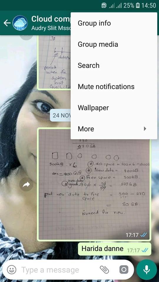 Mute Whatsapp notifications