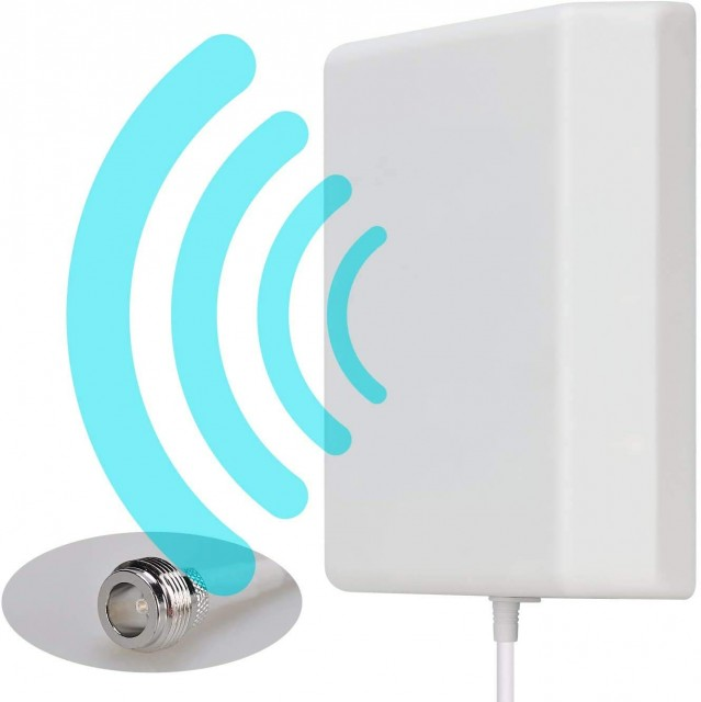 23% OFF - 3AN Telecom – Wall Mount Directional Panel Antenna for Mobile Signal Booster