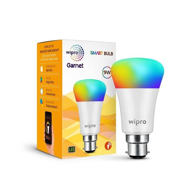 70% OFF - Wipro Wi-Fi Enabled Smart LED Bulb B22 9-Watt