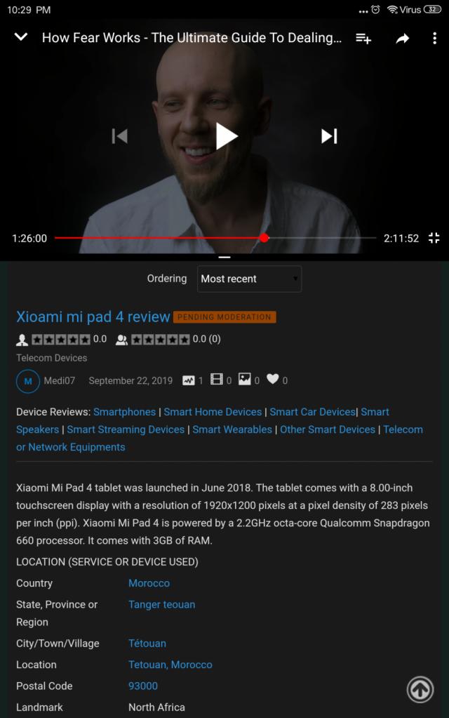 Xioami mi pad 4 review