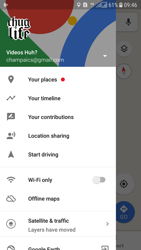 Share your location with your friends